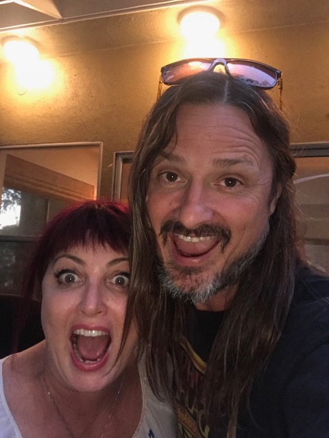 Abby and Steve ham it up in LA CA September 2018